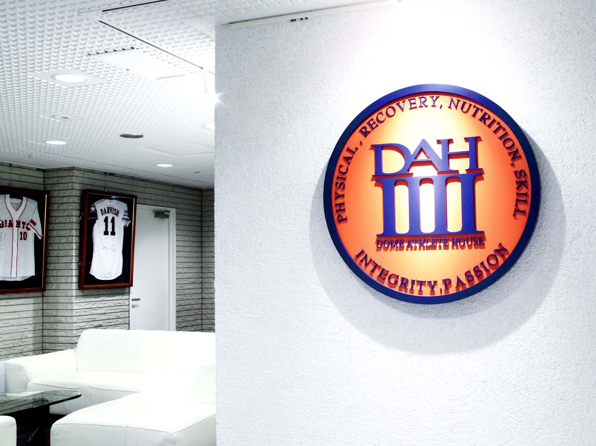 dome athlete house branding