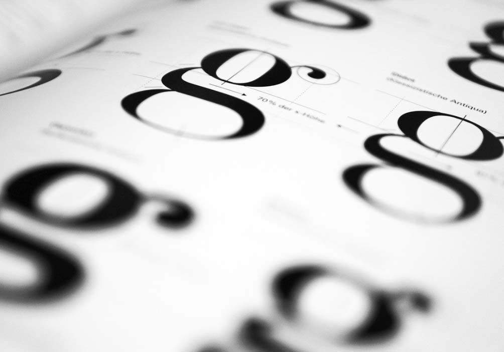 ロゴデザイン開発の定番フォント